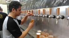 Visitantes irão experimentar a bebida em um copo de 300ml