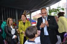 Secretária Maria de Fátima Paludo e presidente da Fasc, Solimar Amaro participaram do evento