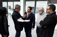 Marchezan foi recebido pelo diretor de projeto da Fraport, Klaus Jeschke