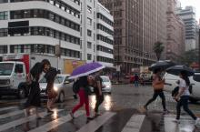 Média histórica de precipitação no mês de dezembro é de 101,20 milímetros