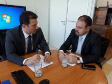 Prefeito reuniu-se com secretário do Ministério da Saúde, Francisco Figueiredo