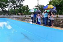 Paim destacou esforço para que a piscina seja reaberta nesta temporada