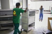Mobiliário vai qualificar unidades de saúde e hospitais