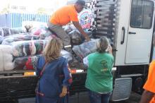 As doações de agasalhos e alimentos podem ser feitas em 12 pontos fixos de coleta