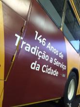 Ônibus temático vai rodar pelas principais linhas da Carris até o final de julho