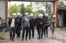 Vereadores da Comissão de Saúde e Meio Ambiente visitaram as obras