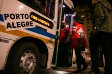 Oito ônibus da Linha Especial Futebol sairão do Largo Glênio Peres