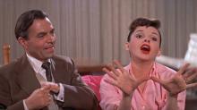 Filme Nasce Uma Estrela, na versão filmada em 1954, é uma das atrações