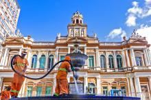 Fonte Talavera ganhou limpeza especial