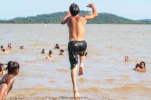 Análise da balneabilidade foi realizada pelo Dmae