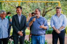 Paim destacou as parcerias com a iniciativa privada para melhorar a cidade