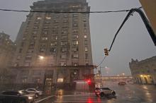 Na Capital, chuva chegou forte depois de uma tarde de calor intenso