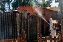 Mais de 3,1 mil imóveis receberam pulverização de inseticida desde março