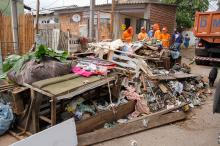 Bota-Fora mobilizou comunidade, que dispensou mais de 30 toneladas de lixo