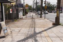 Intervenções devolveram a segurança aos pedestres que circulam pelos locais