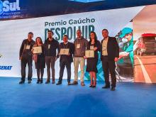 Premiação distinguiu as empresas promotoras de desenvolvimento sustentável