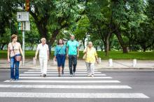 Evento para o público idoso orientou sobre os perigos do trânsito