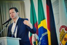 Prefeito falou sobre os projetos para Porto Alegre na Câmara Brasil Alemanha