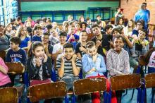 Acordo com instituição internacional foi firmado na Escola Mané Garrincha