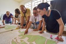 Moradores do bairro Arquipélago identificaram carências e potencialidades locais