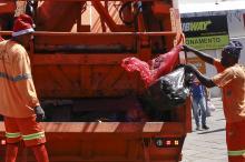 Medida também visa a garantir proteção aos funcionários da coleta de resíduos