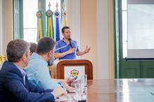Para Marchezan, parceria proporcionará melhor transporte e mais segurança
