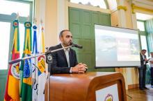Thiago Ribeiro ressalta objetivo de elevar a cidade ao patamar do país e do mundo