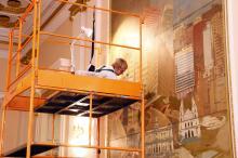 Inauguradas em 1974, pinturas sofreram com poluição e umidade