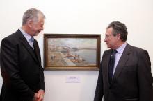 Tela foi doada pelo diplomata Fernando Cacciatore de Garcia